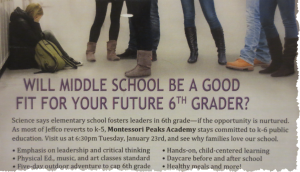 Montessori Peaks Academy Post Card